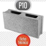Bloque de cemento P10