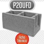 Bloque de cemento P20ufd