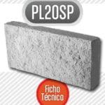 Bloque de cemento PL20SPBloque de cemento PL20SP