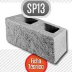 Bloque de cemento SP13