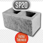 Bloque de cemento SP20