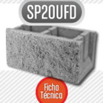 Bloque de cemento SP20ufdBloque de cemento SP20ufd