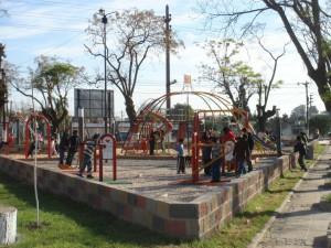 Obra Plaza de merlo
